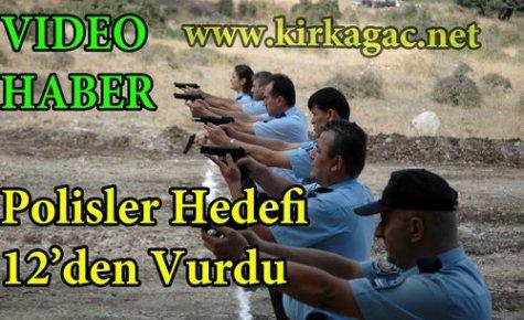 Polisler 12'den Vurdu(VİDEO)