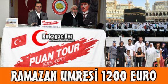 RAMAZAN UMRESİ 1200 EURO