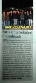 SARIKAMIŞ ŞEHİTLERİ(ORTADOĞU)