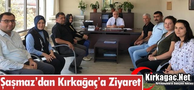 ŞAŞMAZ'DAN KIRKAĞAÇ'A ZİYARET