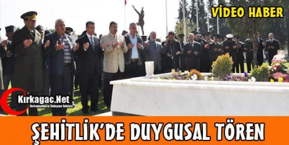 ŞEHİTLİK'DE DUYGUSAL TÖREN(VİDEO)