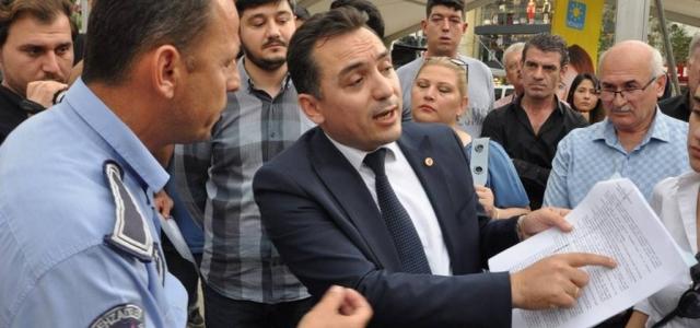 Şehzadeler zabıtasından İYİ Parti'ye saldırı!