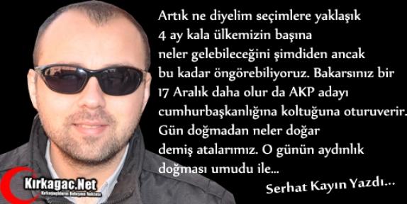 SERHAT KAYIN 'NASIL BİR REİS-İ CUMHUR'