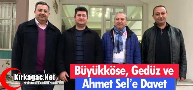 ŞEVAK'TAN KIRKAĞAÇ'TA PROTOKOLE DAVET ZİYARETİ