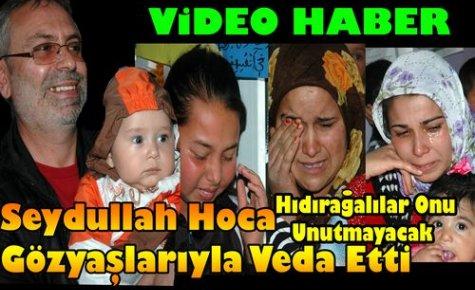 Seydullah Hoca Gözyaşlarıyla Veda Etti(VİDEO)