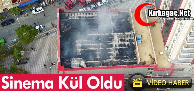 SİNEMA KÜL OLDU(VİDEO)
