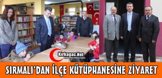 Sırmalı Kütüphaneler Haftasını Kutladı