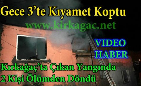 SON DAKİKA.GECE 3'TE KIYAMET KOPTU(VİDEO)