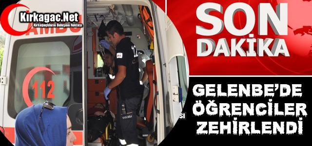 SON DAKİKA...GELENBE'DE ÖĞRENCİLER ZEHİRLENDİ