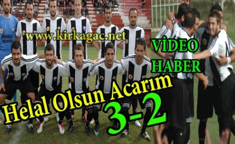 SON DAKİKA..SOMA'DA ZAFER ACAR'IN 3-2(VİDEO)