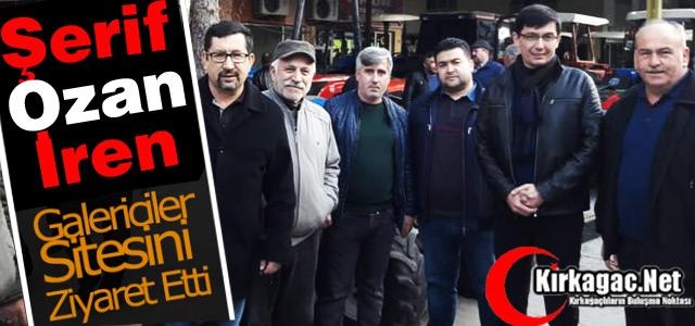 Ş.OZAN İREN GALERİCİ ESNAFINI ZİYARET ETTİ