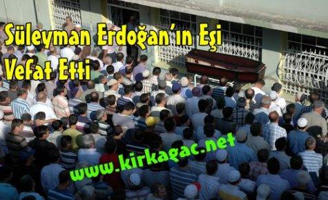 Süleyman Erdoğan Vefat Etti