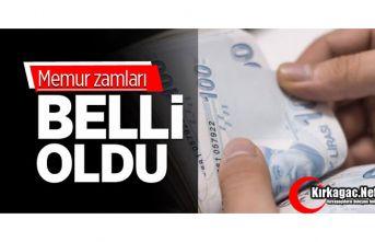MEMUR ZAMMI BELLİ OLDU