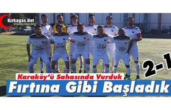 ACAR, LİGE FIRTINA GİBİ BAŞLADI 2-1