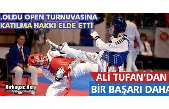 KIRKAĞAÇLI ALİ TUFAN'DAN BİR ÖNEMLİ BAŞARI...