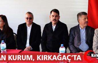 BAKAN MURAT KURUM, KARAKURT MAHALLESİNİ ZİYARET...