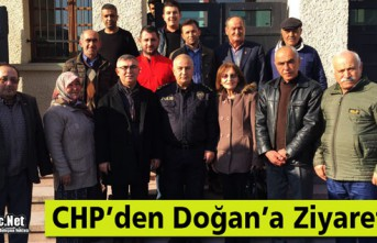 CHP'DEN DOĞAN'A ZİYARET