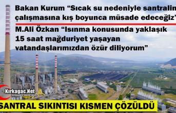 """""""SANTRAL"""" SIKINTISI KISMEN ÇÖZÜLDÜ"""