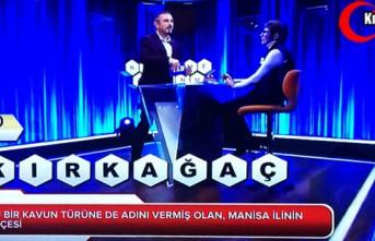 """SEVİLEN YARIŞMADA """"KIRKAĞAÇ"""" SORULDU"""