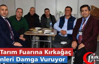 İZMİR TARIM FUARINA KIRKAĞAÇ ÜRÜNLERİ DAMGA...