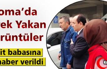 SOMA'DA ŞEHİT BABASINA ACI HABER VERİLDİ