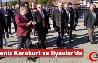 VALİ DENİZ, KARAKURT ve İLYASLAR'DA