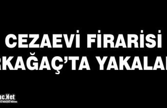 CEZAEVİ FİRARİSİ KIRKAĞAÇ'TA YAKALANDI