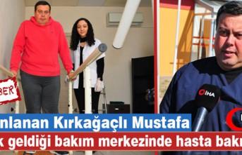 YATALAK GELDİĞİ BAKIM MERKEZİNDE HASTA BAKICI...