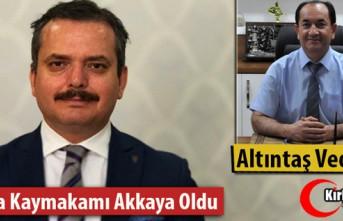 SOMA'DA ALTINTAŞ VEDA ETTİ, YENİ KAYMAKAM...