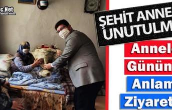"""KIRKAĞAÇ'TA """"ŞEHİT ANNELERİ"""" UNUTULMADI"""