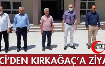 DİKİCİ'DEN KIRKAĞAÇ'A ZİYARET
