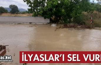 İLYASLAR'I SEL VURDU