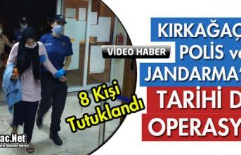 KIRKAĞAÇ'TA POLİS ve JANDARMADAN TARİHİ...