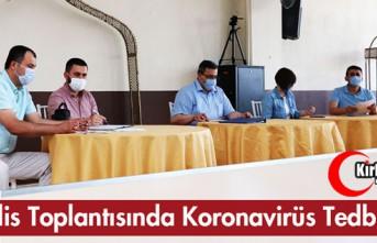 MECLİS TOPLANTISINDA KORONA VİRÜS TEDBİRLERİ