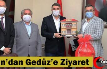 TOSUN'DAN GEDÜZ'E ZİYARET