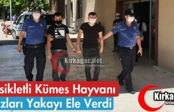 MOTOSİKLETLİ KÜMES HAYVANI HIRSIZLARI YAKAYI ELE...