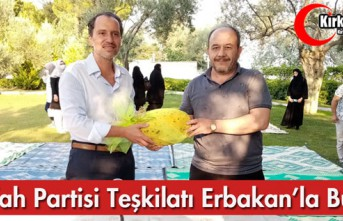 Y.REFAH PARTİSİ TEŞKİLATI ERBAKAN'LA BULUŞTU