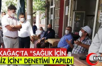 """KIRKAĞAÇ'TA """"SAĞLIK İÇİN HEPİMİZ..."""