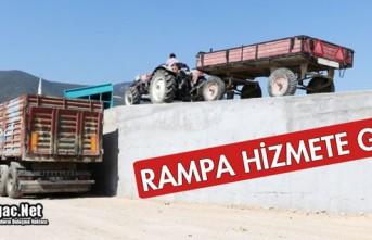 """RAMPA"" HİZMETE GİRDİ"