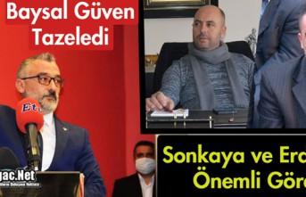 MHP'DE BAYSAL GÜVEN TAZELEDİ