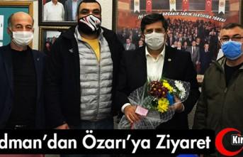 ACARİDMANSPOR'DAN ÖZARI'YA ZİYARET