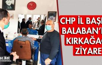 BALABAN'DAN KIRKAĞAÇ'A ZİYARET
