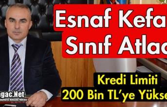 KIRKAĞAÇ ESNAF KEFALET SINIF ATLADI