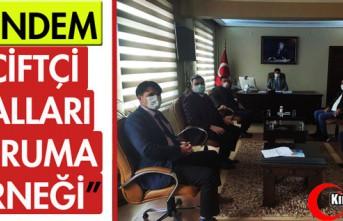 """GÜNDEM """"ÇİFTÇİ MALLARI KORUMA DERNEĞİ"""""""