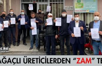 """KIRKAĞAÇLI ÜRETİCİLERDEN """"GÜBRE ZAMMI"""" TEPKİSİ"""
