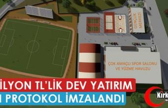 14 MİLYON TL'LİK ÖNEMLİ YATIRIM İÇİN PROTOKOL...
