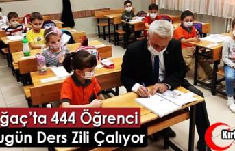 KIRKAĞAÇ'TA BUGÜN 444 ÖĞRENCİ İÇİN DERS...
