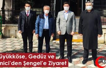 BÜYÜKKÖSE, GEDÜZ ve YEMENİCİ'DEN ŞENGEL'E...