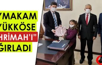 """BÜYÜKKÖSE İL BİRİNCİSİ """"MİHRİMAH'I""""..."""