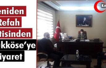 YENİDEN REFAH PARTİSİNDEN BÜYÜKKÖSE'YE ZİYARET